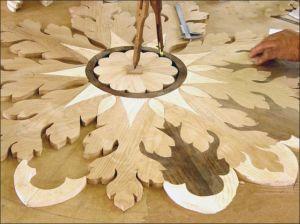 carpenter, inlaid wood