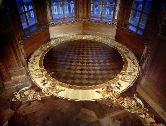 inlaid floor for blog