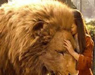 Aslan and Lucy reunion cropped