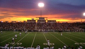 football high school stadium