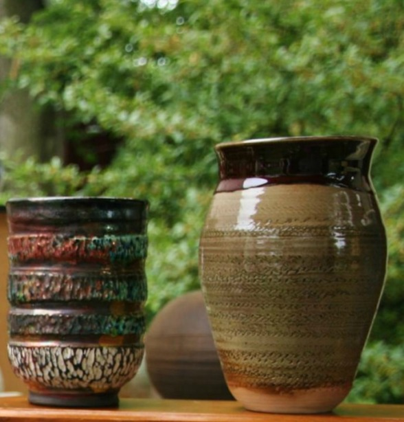 Lou Lourdeau's pottery pics, wine blog, final pic