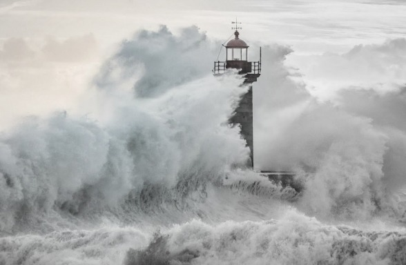 lighthouse in storm, edit for blog
