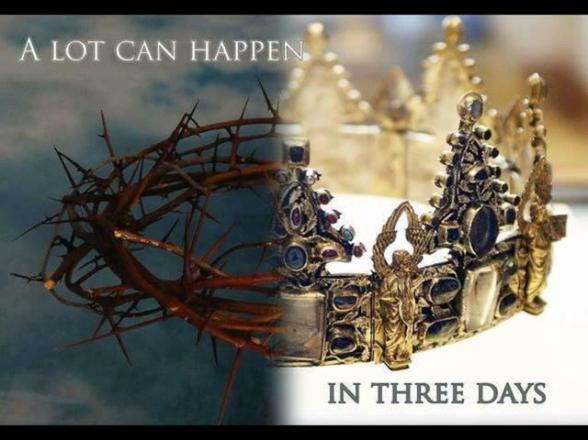A lot can happen in 3 days, crown