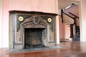 kuppersmith, before pic of fireplace
