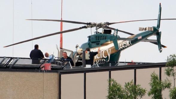Med helicopter