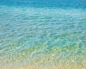 water, clear blue, cropped stock photo