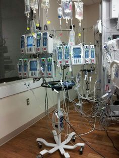 ICU IV pumps